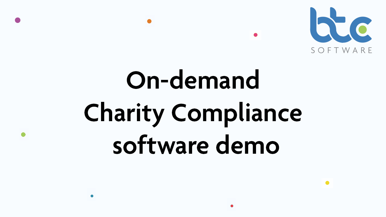 Charity Tax Return Accounts Production Compliance software demo